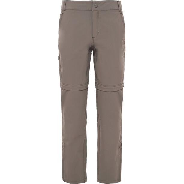 The North Face Exploration Zip-Off Hose short Damen weimaraner brown