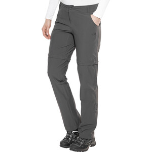 The North Face Exploration Convertible Pants Regular Women, asphalt grey asphalt grey