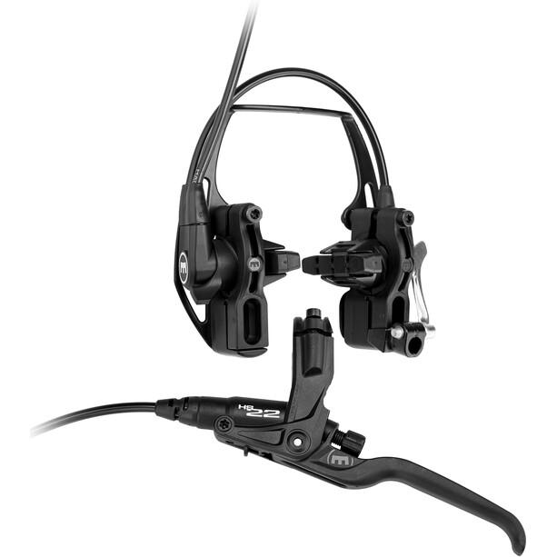 Magura HS22 Fælgbremse 3-finger håndtag forhjul/baghjul easy mount udvidelse