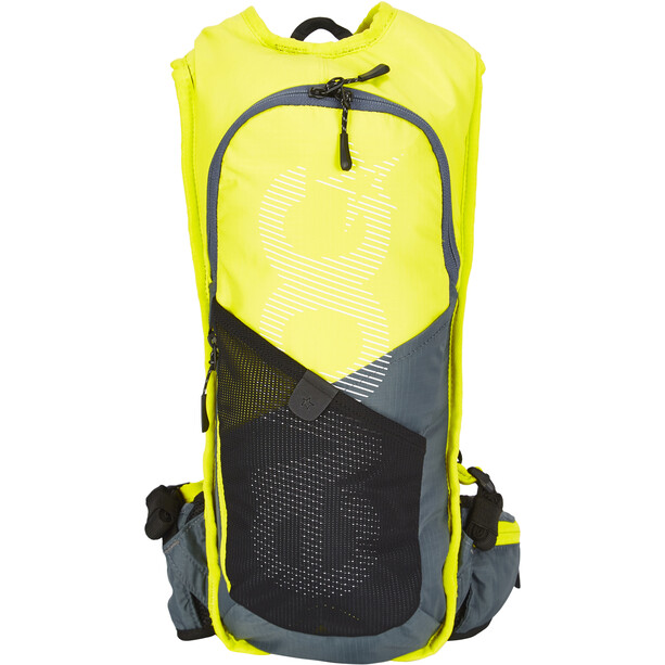EVOC CC Race Lite Performance Rucksack 3l + 2l Bladder gelb/grau