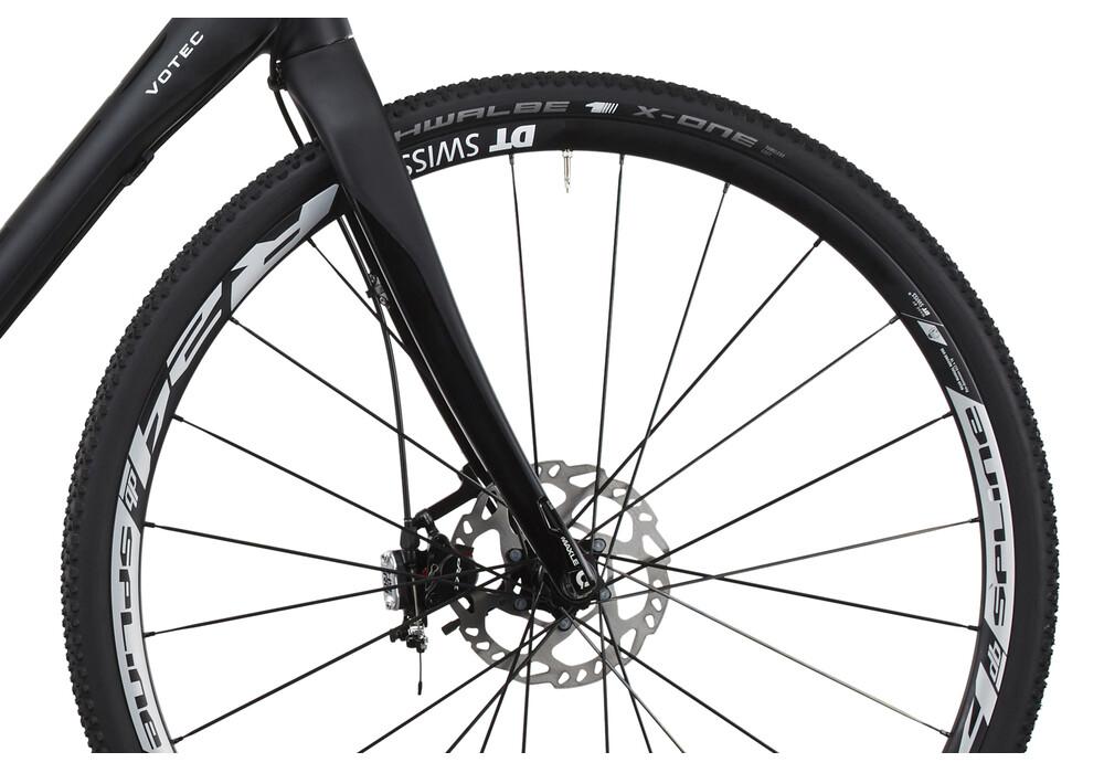 votec vrx c comp cyclocross black matt black glossy. Black Bedroom Furniture Sets. Home Design Ideas