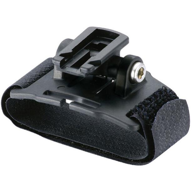 CatEye Klett-Strap Helmhalter für alle Scheinwerfer schwarz
