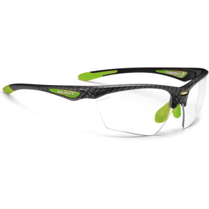 Rudy Project Stratofly Lunettes, carbonium green/photoclear carbonium green/photoclear
