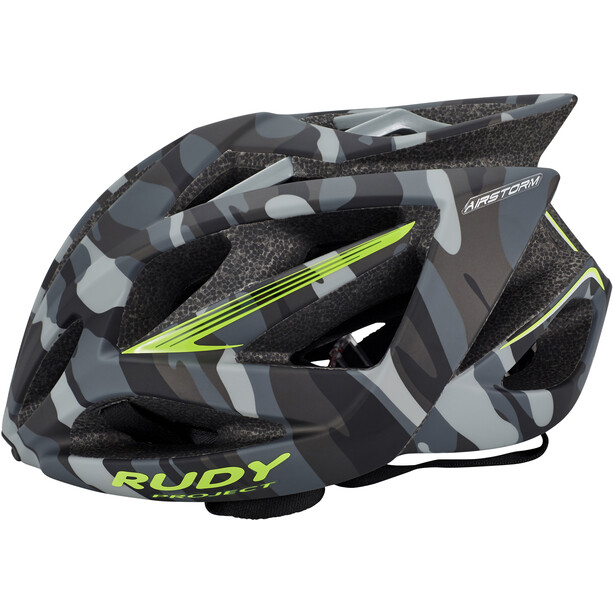 Rudy Project Airstorm Helm grey camo-lime fluo (matte)