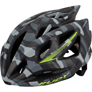 Rudy Project Airstorm Helm grey camo-lime fluo (matte) grey camo-lime fluo (matte)
