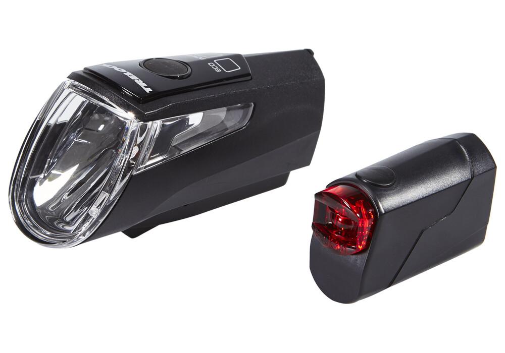 trelock ls 460 i go power ls 720 bike lights sets black at. Black Bedroom Furniture Sets. Home Design Ideas