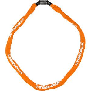 Trelock BC 115 Code Kettenschloss 60cm orange orange