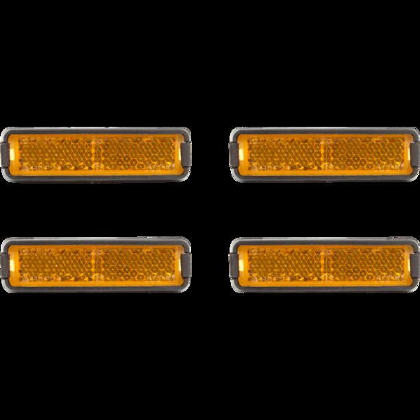 Cube RFR pedalreflekser (sæt), orange