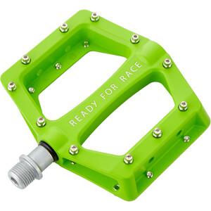 Cube RFR Flat Race Pedale green green