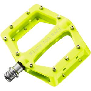 Cube RFR Flat Race Pedale neon yellow neon yellow