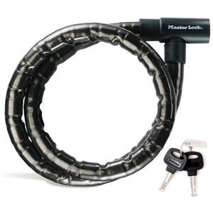 Masterlock 8218 PanzR Kabelschloss 22 mm x 2.000 mm schwarz schwarz