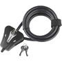 Masterlock Python Kompakt Kabelschloss 8x1800mm schwarz