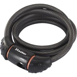 Masterlock Quantum Cable Lock 10 mm x 1.800 mm シルバー