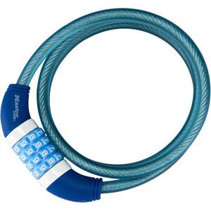 Masterlock 8231 Cable Lock 10x1200mm, blue blue