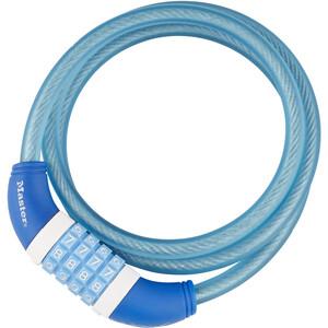 Masterlock 8231 Kabelschloss 10 mm x 1.200 mm blau blau