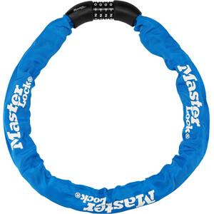 Masterlock 8392 Kettenschloss 8x900mm blau blau