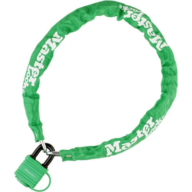 Masterlock 8390 Chain Lock 6 mm x 900 mm green