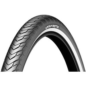 """Michelin Protek Drahtreifen 28"""" schwarz schwarz"""