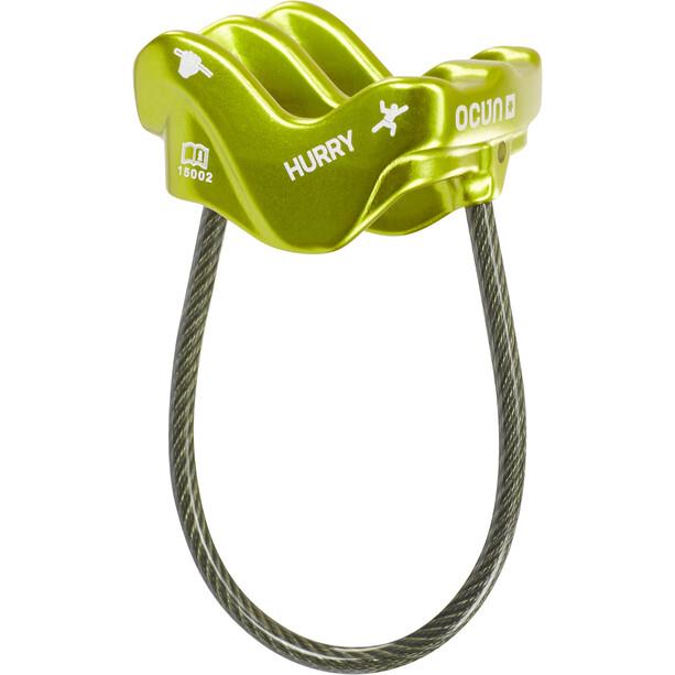 Ocun Hurry Sicherungsgerät green
