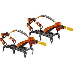Climbing Technology Mini Crampon 6P Jääkengät 6P, musta/oranssi musta/oranssi