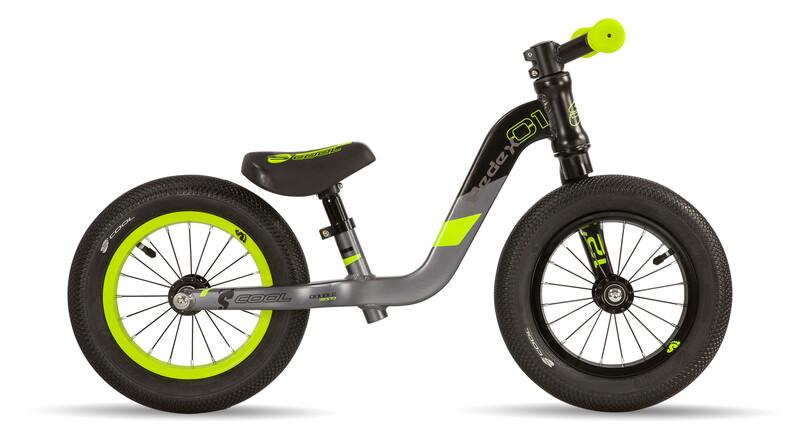 s'cool pedeX 1 black/grey/yellow matt  2018 Jugend- & Kinderfahrräder