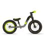 s'cool pedeX 1 Kinder black/grey/yellow matt