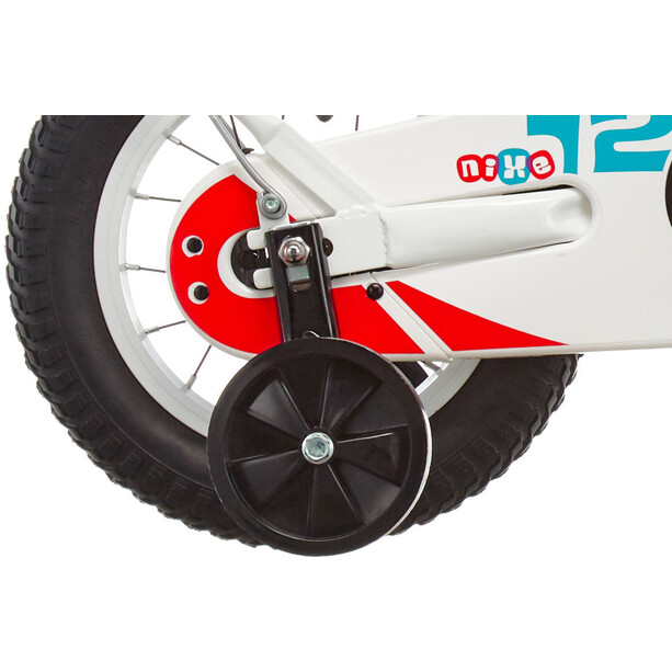 s'cool niXe 12 steel Kinder white/blue/red