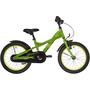 s'cool XXlite 16 steel Kinder green/yellow