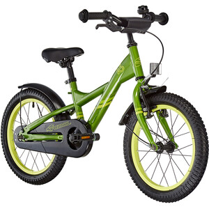 s'cool XXlite 16 steel Kinder green/yellow green/yellow