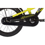 s'cool XXlite 16 alloy Kinder yellow/black matt
