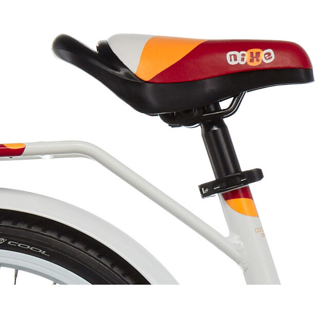 s'cool niXe 18 alloy Kinder white/red