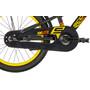 s'cool XXlite 18 steel Kinder black/yellow