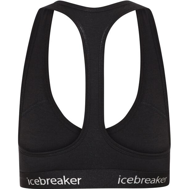 Icebreaker Sprite Racerback BH Damen black