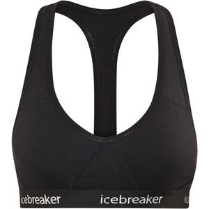 Icebreaker Sprite Racerback BH Damen schwarz schwarz