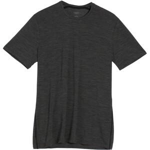 Icebreaker Anatomica Crew Top T-shirt Heren, grijs grijs