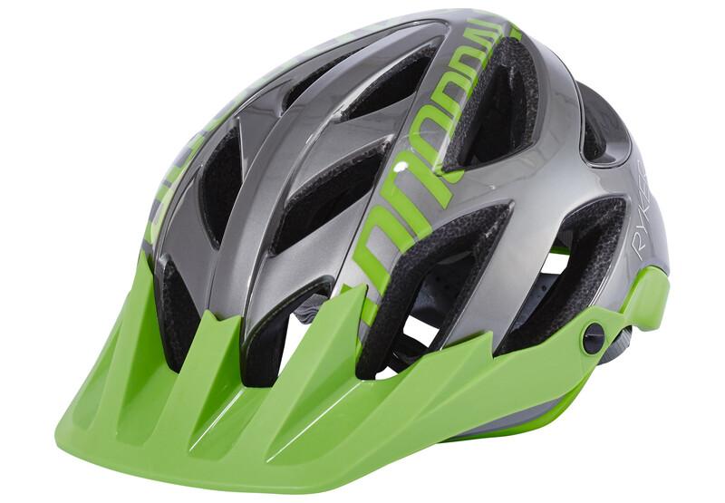 Cannondale Ryker AM Helmet gray/green 55-59 cm 2018 Fahrradhelme, Gr. 55-59 cm