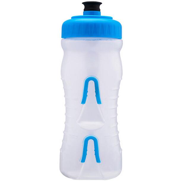 Fabric Cageless Flasche 600ml clear/cyan