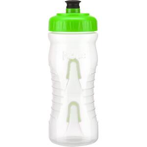 Fabric Cageless Flasche 600ml transparent/grün transparent/grün