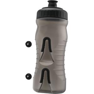 Fabric Cageless Flasche 600ml grey/black grey/black