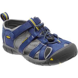 Keen Seacamp II CNX Sandals Youth blue depths/gargoyle blue depths/gargoyle