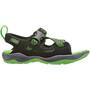 Keen Rock Iguana Sandaalit Lapset, musta/vihreä