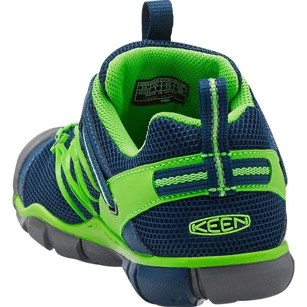 Keen Chandler CNX Schuhe Kinder poseidon/jasmine green