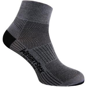 Wrightsock Coolmesh II Quarter Socken grey grey