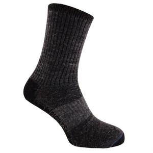 Wrightsock Merino Stride Crew-Cut Socken grey grey