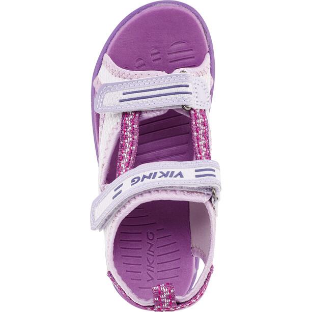 Viking Footwear Skumvaer Sandalen Kinder lila