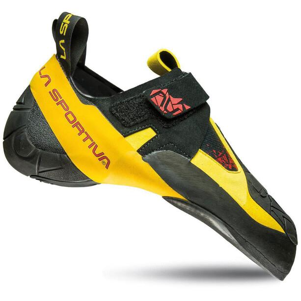 La Sportiva Skwama Kletterschuhe black/yellow