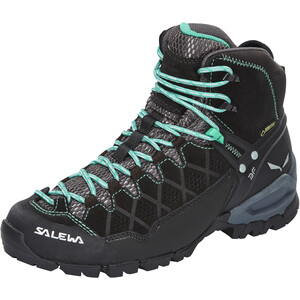 SALEWA Alp Trainer Mid GTX Vaelluskengät Naiset, black out/agata black out/agata