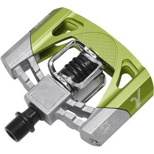 Crankbrothers Mallet 2 Pedale raw/grün raw/grün