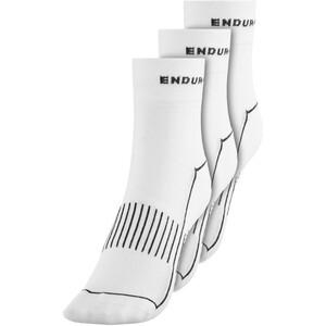 Endura Coolmax Race II Socken TriplePack white white