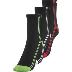 Endura CoolMax Stripe II Socken TriplePack black black